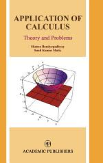 Application of Calculus : Theory & Problems