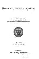 Harvard University Bulletin PDF