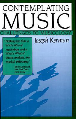 Contemplating Music PDF