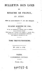 Bulletin des lois de la Republique Francaise: Volume9;Volume1833;Volumes1841à1842;Volume1846