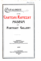 Catalogue of the Château Ramezay Museum and Portrait Gallery