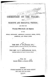 A Commentary on the Psalms: Psalm LXXXI. to Psalm CXVIII. 2d ed. 1874