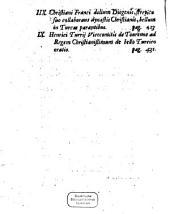 De bello contra Turcas prudenter gerendo: libri varii