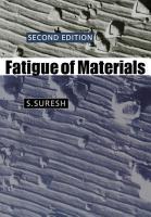 Fatigue of Materials PDF