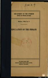 Education of the Indians