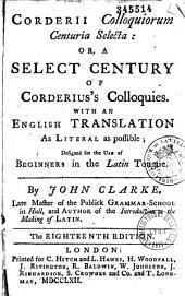 Colloquiorum centuria selecta