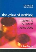 The Value of Nothing PDF