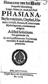 Equus Troianus: in poetas cum laude & venustate mentientes Noltio in poetas publice disserente ...