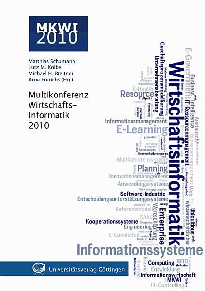 Multikonferenz Wirtschaftsinformatik 2010 PDF