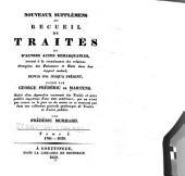 Nouveaux supplémens au recueil de traités: Volume25