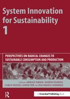 System Innovation for Sustainability 1 PDF