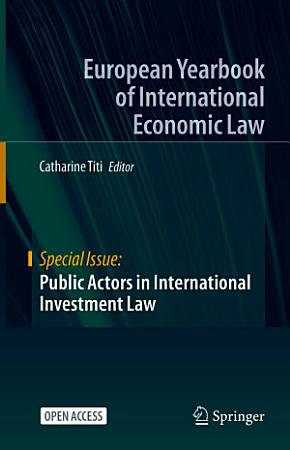 Public Actors in International Investment Law PDF