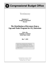 Distribution of Revenues from a Cap-and-Trade Program for CO2 Emissions: Congressional Testimony