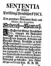 De culpa lata ministri status. Respond. Christianus Joachimus Baldovius. Ed. nova