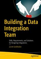 Building a Data Integration Team PDF