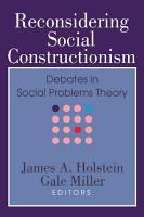 Reconsidering Social Constructionism PDF