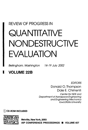 Review of Progress in Quantitative Nondestructive Evaluation PDF