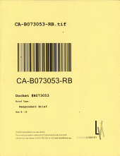 California. Court of Appeal (2nd Appellate District). Records and Briefs: B073053, Respondent Brief