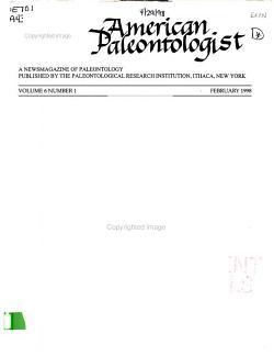 American Paleontologist PDF