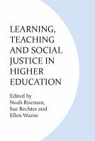 Learning  Teaching and Social Justice in Higher Education PDF