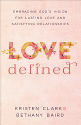 Love Defined Book PDF