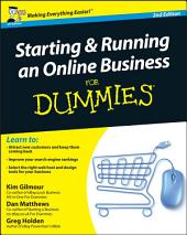 Starting and Running an Online Business For Dummies: Edition 2