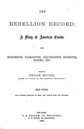 The Rebellion Record  Oct   62 June  63 PDF
