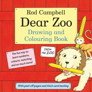 Dear Zoo Drawing and Colouring Book Book