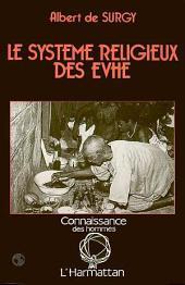 Le système religieux des Evhé