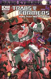 Transformers: More Than Meets the Eye #24 - Dark Cybertron Part 4