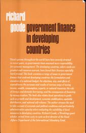 Government Finance in Developing Countries