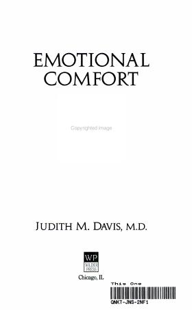 Emotional Comfort PDF