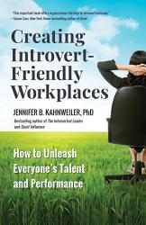Creating Introvert Friendly Workplaces Book PDF
