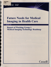 Report of Working Group 1, Medical Imaging Technology Roadmap