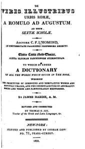 De viris illustribus urbis Romæ, a Romulo ad Augustum: Ad usum sextæ scholæ