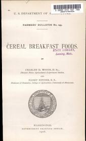 Cereal Breakfast Foods