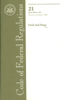 Code of Federal Regulations  Title 21  Food and Drugs PDF