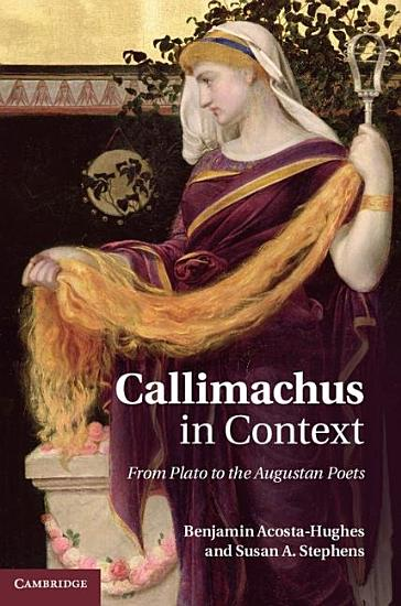 Callimachus in Context PDF