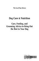 Dog Care   Nutrition PDF