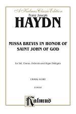 Missa Brevis in B-flat - in Honor of Saint John of God