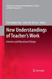 New Understandings of Teacher s Work PDF