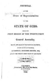 Journal of the House of Representatives of the State of Ohio: Volume 21