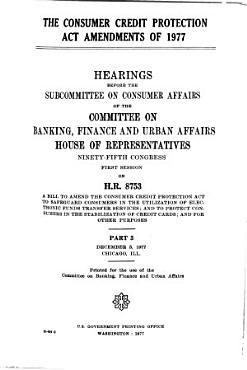 The Consumer Credit Protection Act Amendments of 1977 PDF