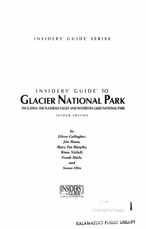 Glacier National Park PDF