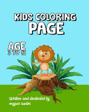 Kids Coloring Page Book
