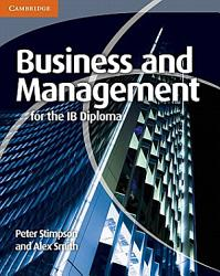Business and Management for the IB Diploma PDF