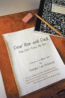 Dear Mom and Dad PDF