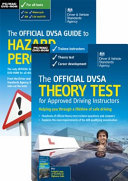 The Official DVSA Theory Test for Approved Driving Instructors  DVD Pack  PDF