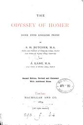 The Odyssey, done into Engl. prose by S.H. Butcher and A. Lang