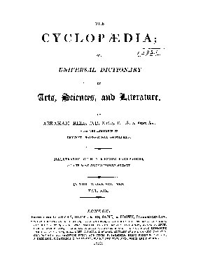 The Cyclop  dia  Or  Universal Dictionary of Arts  Sciences  and Literature PDF